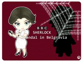 BBCSherlock: NENDOROID The Woman by yasaka-unabara