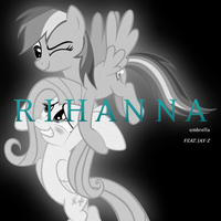 Rihanna / Jay-Z - Umbrella (RD and Fluttershy) by AdrianImpalaMata