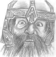 Gimli son of Gloin by Nikko707