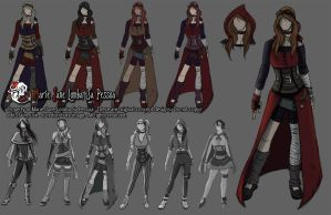 Character Concept - Little Red Riding Hood by MarieJane67777