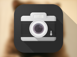 iOS 7 camera icon by sicfess