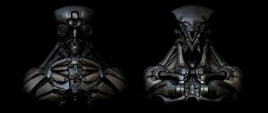 Robot Wallpaper (Clean version) by panick