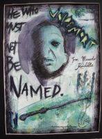 The Dark Lord, Voldemort. by dominiquebellamy