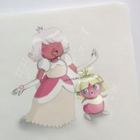 Trainer Padparadscha and Smoochum