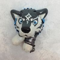 Wolf Link Pop-Out Button by LeiliaClay
