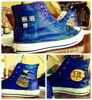 Doctor who shoes by Kurajia