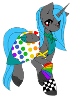Skittles Dress by Xx-NovaBlue-xX