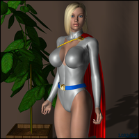 I Want Powergirl by LordSnot