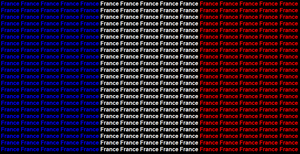 France name flag by ABtheButterfly