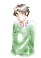 Not Hulk by MidoriLied