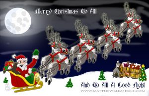 Merry Christmas To All. by Bleezer