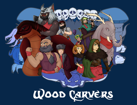 Woodcarvers by IronClark