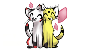 My little cats! by PoMlovah611