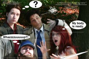 SPN Cos Crew - Dumbass-Invasion by IngeniusBlue