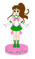 Sailor Jupiter Doll by JelloArms