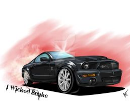 1 Wicked Snake: Shelby Mustang by TallmanCreations