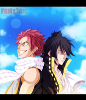 Natsu And Zeref by KhalilXPirates