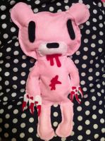 Gloomy bear plush by invaderstitch2000
