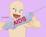 :153: Pokemon :James Gives Aids Pixel Base: by CLGbases