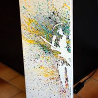 Jimi Hendrix painting by Anthony Chambaud : http:/ by Mustru