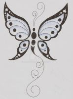 Butterfly Tattoo by AliciaEvan