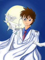 COM - Kaitou Kid from Case Closed by xCarnationFox