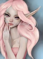 Soft looking [commission] by LolaLuvesYou