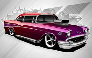 57 Chev by dazza-mate