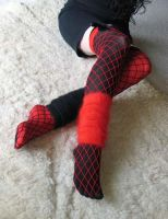 red+black THs, nets, warmers 4 by missrex