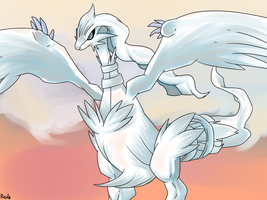 Reshiram by RocketHaruka