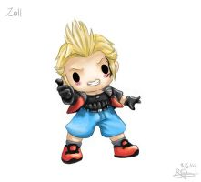 Chibi Zell by capsicum