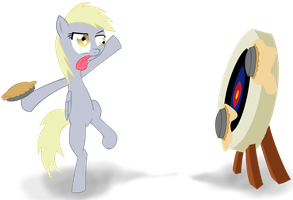 Derpy Training by RunbowDash
