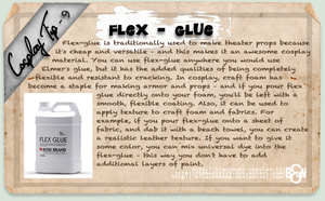 Cosplay Tip 9: Flex-Glue by Bllacksheep