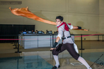 Mako Cosplay | Firebending 3 by CosplayInABox