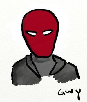 Red Hood Doodle by gwydionx