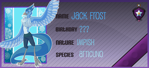 The frost spirit, Jack by TinyBuni