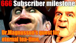 Dr.Magnusson's quest for eternal tea-time. by WaWor