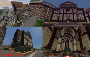 Minecraft- Roman Great Library by X-Luminare-X