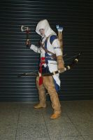Connor Kenway 3 by mysticheero