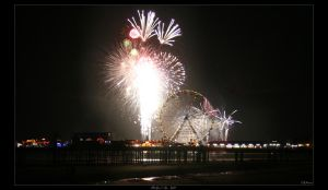 Blackpool By Night by FearDesign