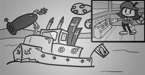 Battleship William by NuclearMime