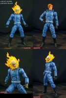 Custom Ghost Rider Johnny Blaze figure by Jin-Saotome