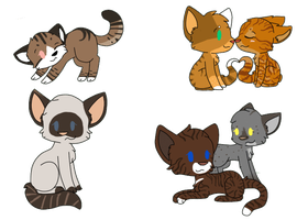 WVS Chibi Requests - Set Two by oOKittKattOo