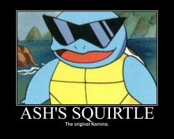 Squirtle Poster by FluffyFlaaffy