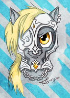 Derpy the Warrior by NerryKirai