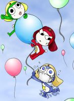 Balloon Conquerers by kawaiibunny3