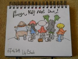 Codename Kids Next Door fanart by LilyScribbles