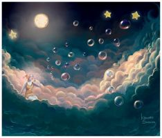 Moon dream. by agnes-green
