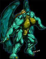 Neijia Transformed color by hulkdaddyg