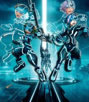 Kingdom Hearts in Tron's World by YunieSummoner